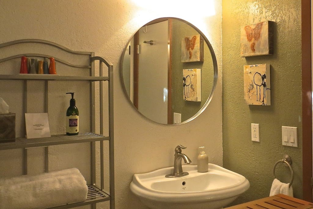 Freshen up. Your own Guest Bath.