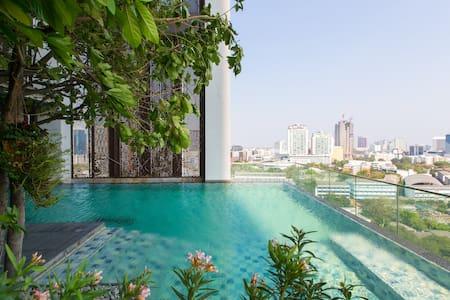 Designer loft +green view @tonglor - Bangkok
