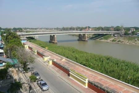 New building with the river view - Sing Buri - Flat