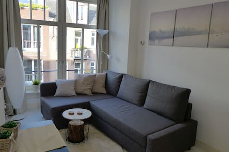 Entire cozy flat 10 minutes from A'dam city center - Amsterdam - Wohnung