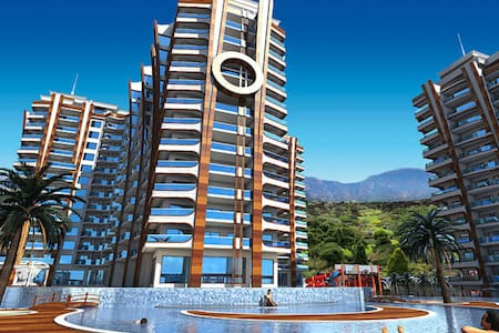 Azura park residence, 7* luxury .,best sea view - Apartament