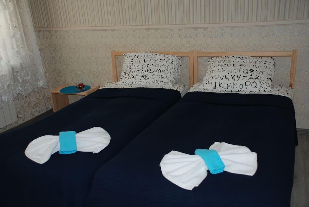 Кровати можно соединить