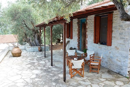 Pelion Amazing Cottage by the sea - 獨棟