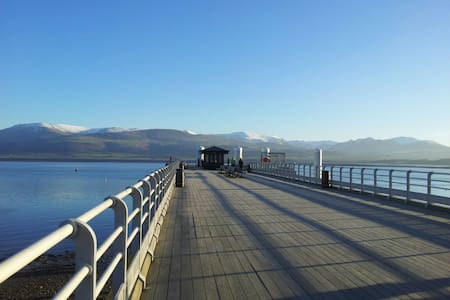 Red Wharf Bay View Retreat for Two. - Casa