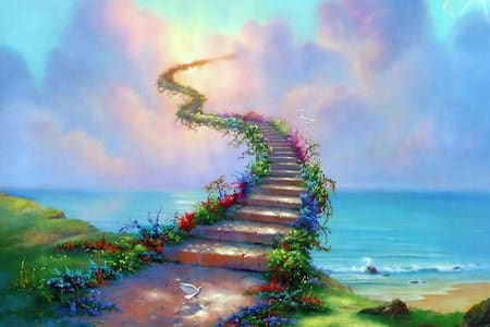Heaven stairs fake listing - Pis