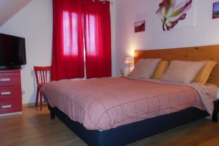 Chambre dans maison entre Mulhouse et Colmar - Pulversheim