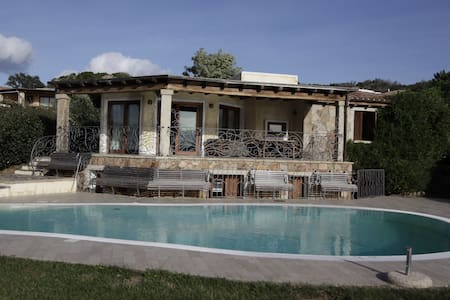 Villa Sole & Mare with pool & sea view - Villa