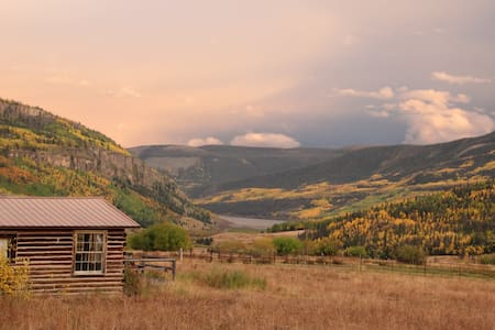 Aspen Grove of Lost Trail Ranch - Zomerhuis/Cottage