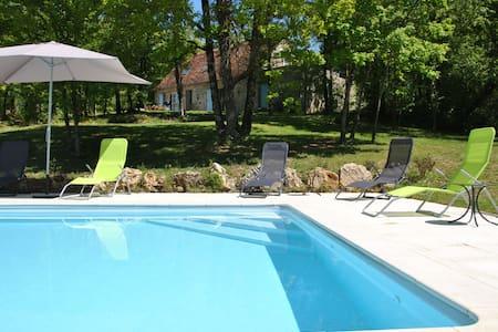 Grange 4*,Vallée de la Dordogne - Branceilles - House