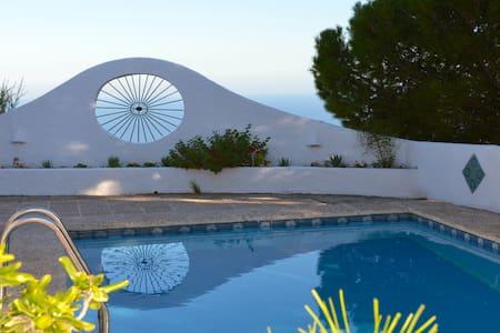Andalusian Villa with splendid view - Mojácar