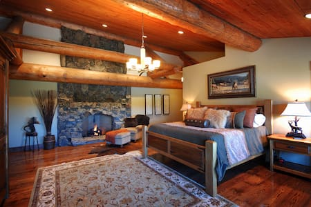 Luxury Room on a Private Ranch - B&B