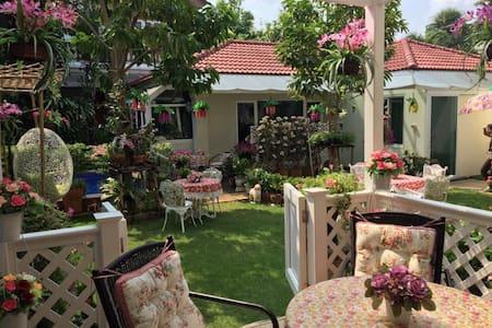 Ladarom Garden Home - Tambon Bang Khu Wiang - Casa