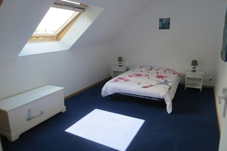 chambre dans une longère en pierre en campagne - Sarzeau - Gästehaus
