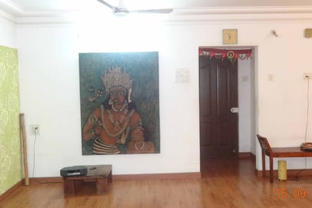 Two Private Rooms in 4 BHK Green House - Navi Mumbai - Guesthouse