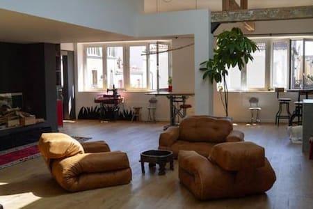 Chambre climatisée - loft - 20' centre de Paris. - Montreuil