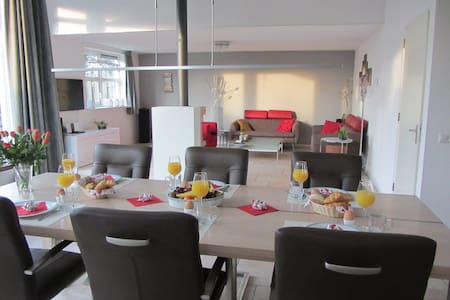 Luxury very spacious familyhouse - Dedemsvaart - Casa