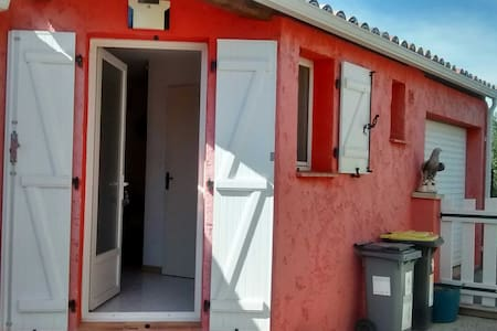 Chambre indépendante avec salle de bains privative - Ev