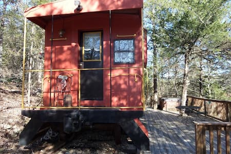 Caboose 101- Country, Hot Tub - Eureka Springs - Other