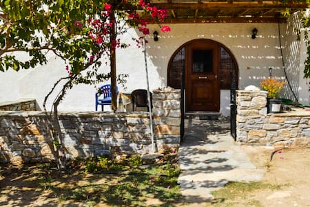Detached Naxos house with view - 1 km from the sea - House