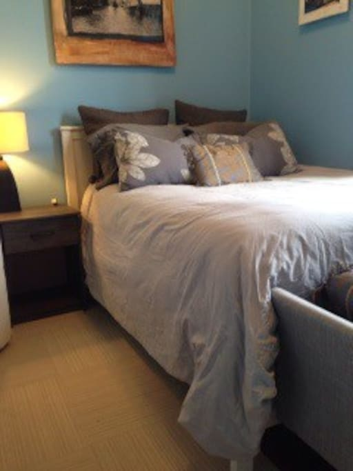 We've updated our guest room with more modern furniture, carpet and newer pillows and duvet.
