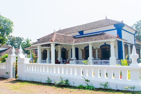 luxury Heritage Portuguese villa at Moira Nth Goa - North Goa - Villa