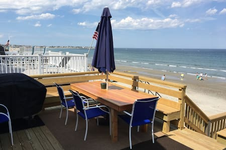 Beachfront property with panoramic ocean views - Duxbury - Dom