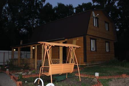 "дом-баня ""Медвежий угол"" - poseleniye Vnukovskoye - House"