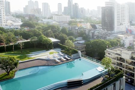 Top Floor City View Cozy Nest顶楼温馨套房 - Bangkok - Appartamento