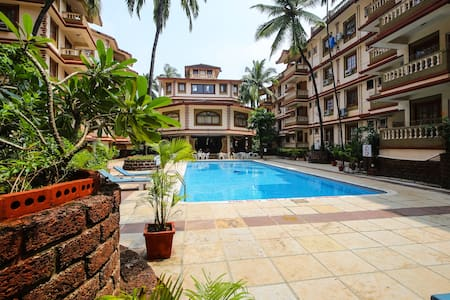 Cozy Apt Beachside Resort Candolim - Candolim