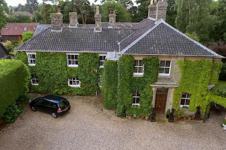 Private wing of a Georgian House - Thurston - Bed & Breakfast