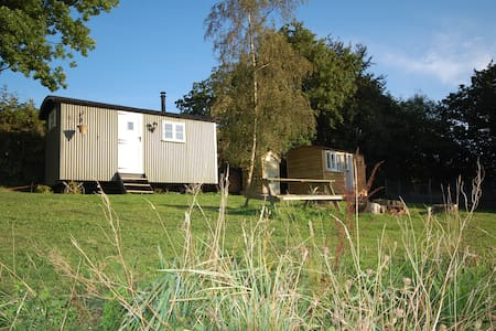 2 Shepherd's huts - ideal for families - Heathfield - Hut