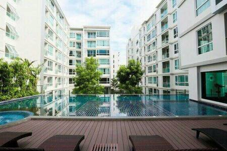 24hr/BTS Punawithi/Sukhumvit/NewCozy 1BR - Condominium