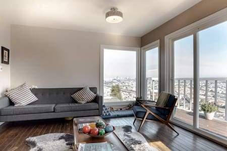 Sky House Room, Quick City Access - San Francisco - House