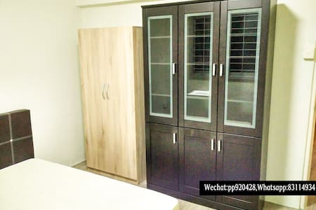 4min to MRT station,new two-floor comm room - Apartamento