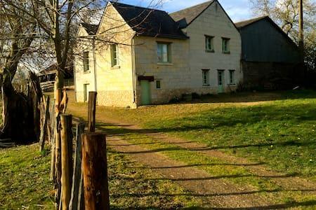 Maison de nature 6 km de Saumur - Hus