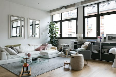 Central Bright and Stylish Loft - Genf - Loft