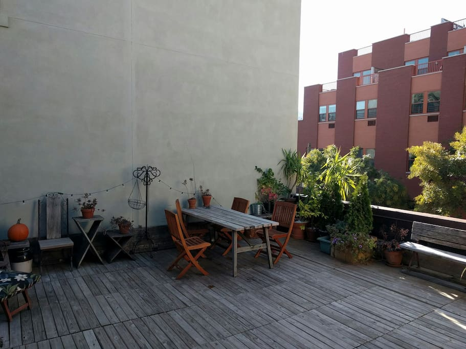 The deck from another angle.