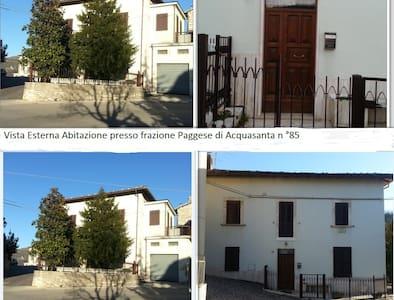 VILLA IN LOCALITA' TERMALE - Paggese-Santa Maria - House