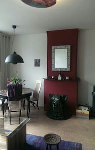 Cosy apartment in Amsterdam, lavishly furnished.