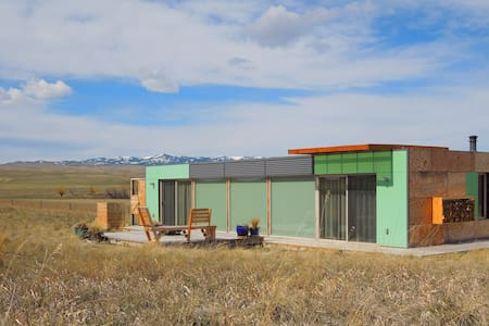 Shipping Container Home - Livingston - House