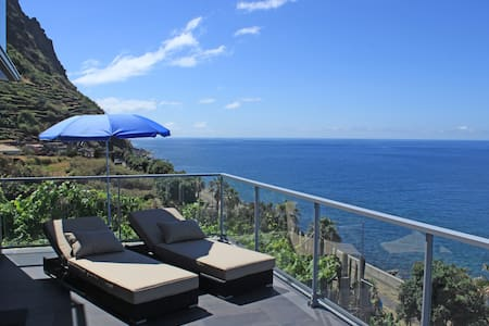 Oceanfront Living at its best! - Jardim Do Mar - Daire