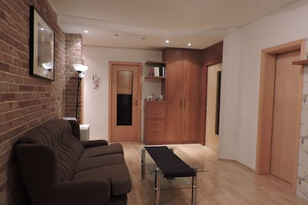 Lysa nad Labem, warm and functional big flat - Apartment