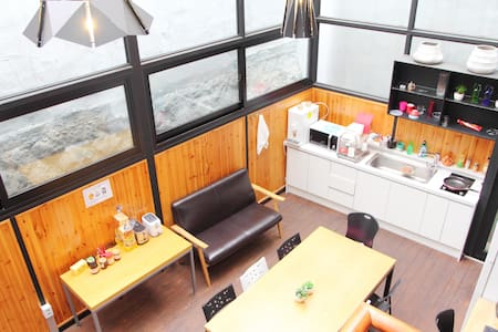 Cozy Double Room in Myeongdong - Wikt i opierunek