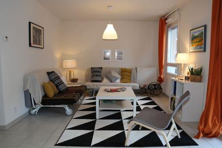 Enjoyable double room 10 mins from Geneva - Etrembières - Flat