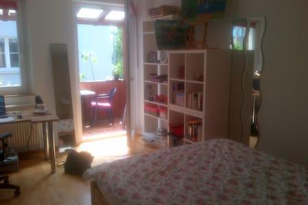 Helles, gemütliches, zentrales WG-Zimmer - Apartment