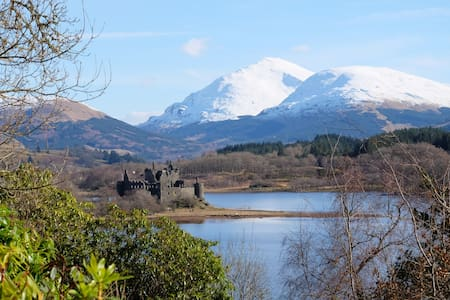 Tower of Glenstrae - Loch Awe - House