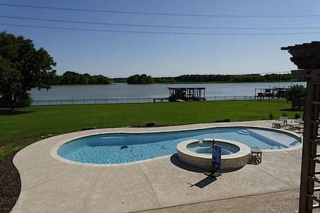 Water Front home on Lake Livingston Texas - Hus