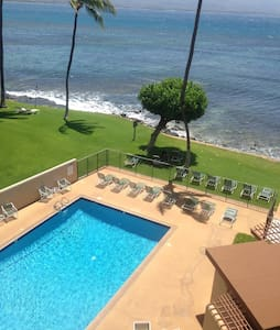 Huge ocean views! Watch whales from the lanai. - Condominium