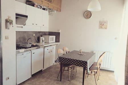 Studio mezzanine Ax Les Thermes - Appartamento