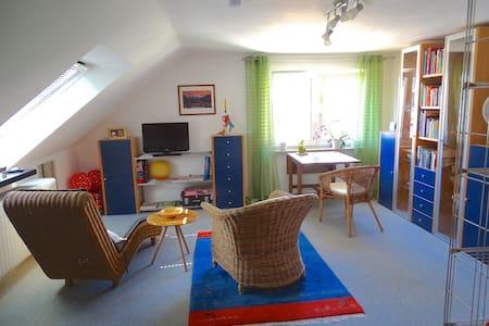 Cozy peaceful loft with great transportation links - Nürnberg